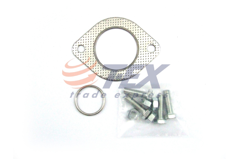 Auspuff ab Kat Montagesatz Nissan Micra K11 1.0i  16V 54PS 93-99 Komplettanlage